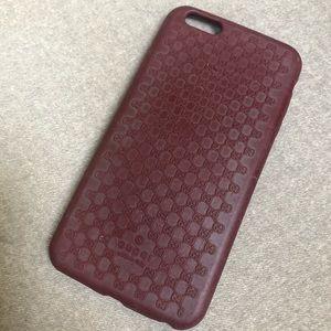 Gucci microguccissima iphone 7 plus case